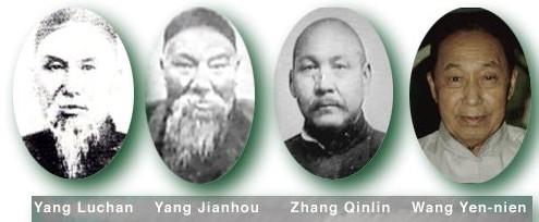 Lignée des maîtres du Yangjia Michuan TJQ
